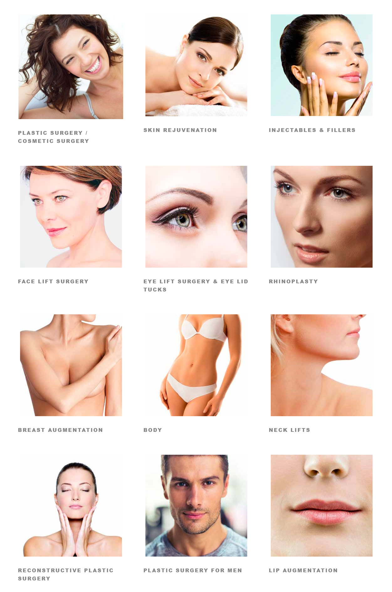 women medical spa and cosmetic surgery results